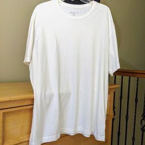 Eddie Bauer Men's s/s tee white size XXL